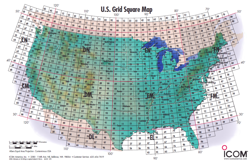 W2lis united states grid square map world grid square map gumiabroncs Gallery